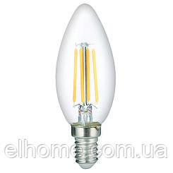 Лампа LED Vestum филамент С35 Е14 4Вт 220V 3000К