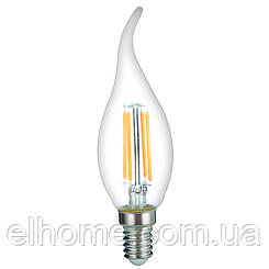 Лампа LED Vestum филамент С35Т Е14 4Вт 220V 3000К
