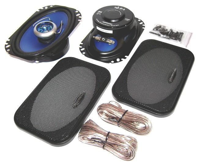 """Автоакустика Boschmann G-4632S динамики овалы (100мм х 155мм, 4"""" x 6"""") колонки в машину"""