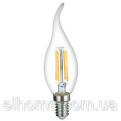 Лампа LED Vestum филамент С35Т Е14 4Вт 220V 4100К