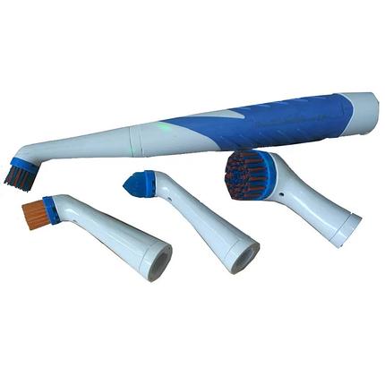 Электрическая щетка для уборки с 4 насадками Sonic Cleaner, фото 2