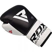 Боксерские перчатки RDX Pro Gel S5 10 ун., фото 3
