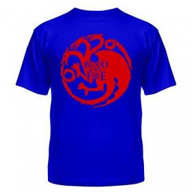 Стильная модная футболка для парней Blood and Fire