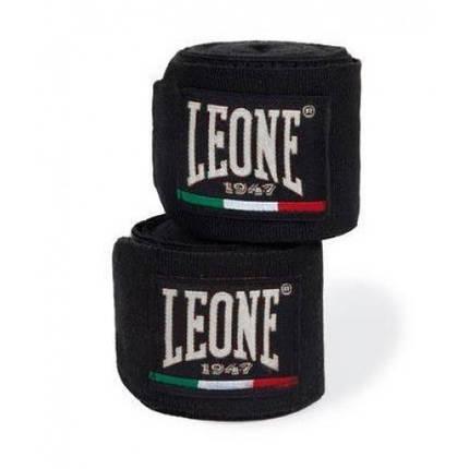 Бинты боксерские Leone Black 3,5 м, фото 2