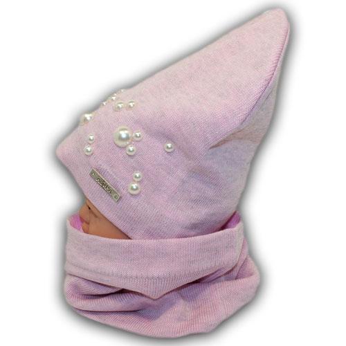 Весенние детские шапки с хомутом