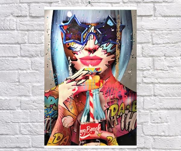 Постер плакат BEGEMOT Поп-Арт Девушки Pop-Art Girls 40x61 см (1121209)