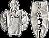 Трикотажный костюм New Balance (Нью Баланс) серый, фото 9