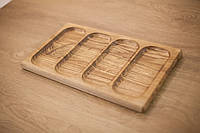 Деревянная доска для подачи блюд 41-24 см
