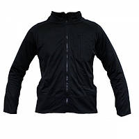 Тактическая флисовая рубашка MIL-TEC THERMOFLEECE Black, фото 1