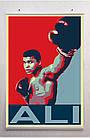 Постер плакат BEGEMOT Поп-Арт Мухаммед Али  Muhammad Ali 40x61 см (1121298), фото 2