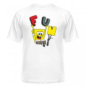 Мужская футболка Спанч Боб Fan