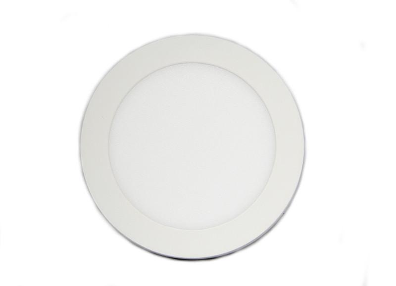 Круглый врезной светильник теплый белый Downlight 18Вт (3200К)