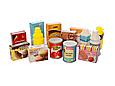 Тележка 922-72 супермаркет с продуктами ( 41 предмет) - детский игровой набор, фото 3