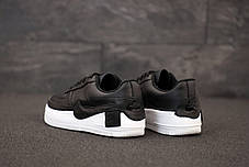 Кроссовки мужские Найк Nike Air Force Black. ТОП Реплика ААА класса., фото 3