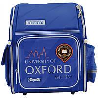 Рюкзак-ранец 1 Вересня Oxford H-18 школьный синий