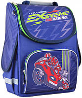 Рюкзак каркасный Smart Extreme racing PG-11 школьный синий