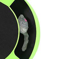 Игра для котов с точилкой для когтей Catch The Mouse, фото 2