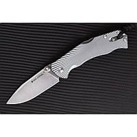 Нож складной H7 SPECIAL EDITION GREY прочный и внушительный, не боится нагрузок, фото 1