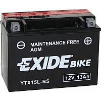 Аккумулятор Exide 12V 13AH/210A (YTX15L-BS)
