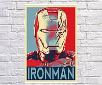 Постер плакат BEGEMOT Поп-Арт Тони Старк Железный человек Iron Man 61x90 см (1121257-1)