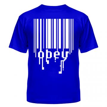 Футболка Штрих код OBEY