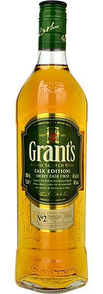 Grants Blended scotch whisky Cask Editions mini