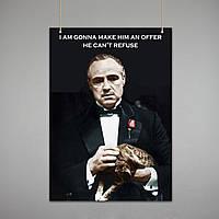 Постер: Крёстный отец (Макет №1)