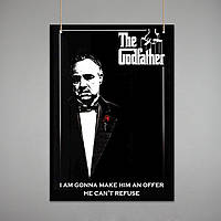 Постер: Крёстный отец (Макет №3)