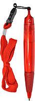 Пластиковая ручка CF21006, красная, от 100 шт