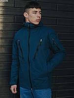 Мужская куртка осень-весна Staff win navy