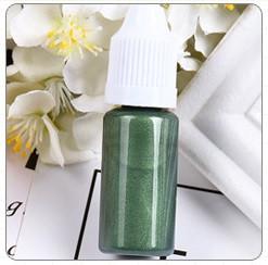 Перламутровый краситель для эпоксидной смолы, Оливковый, 10 мл