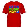 Футболка Let the music play, фото 3