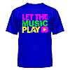 Футболка Let the music play, фото 5