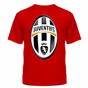 Майка Juventus красная