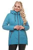 Качественная фабричная куртка на весну Милан большие размеры, цвета