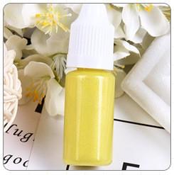 Перламутровый краситель для эпоксидной смолы, Желтый, 10 мл