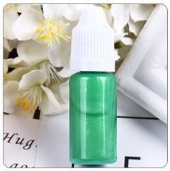 Перламутровий барвник для епоксидної смоли, Зелений, 10 мл