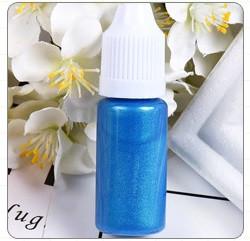 Перламутровый краситель для эпоксидной смолы, Синий, 10 мл