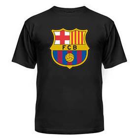Футболка футбольная с нанесением логотипа Барселона