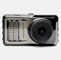 """Видеорегистратор DVR E26 3"""" LCD 1080p 170° Двойная линза, Автомобильный регистратор ДВР E-26, фото 1"""