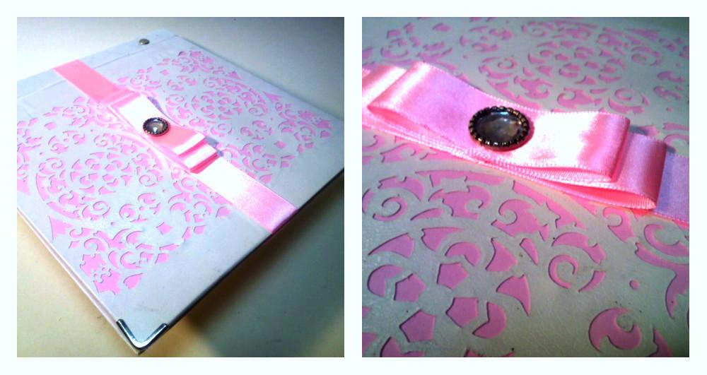 Книга для пожеланий нежно-розовая