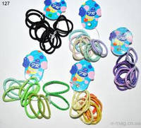 Резинки детские разноцветные-127