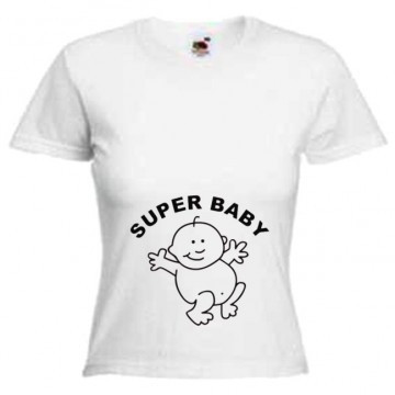 Майка SUPER BABY
