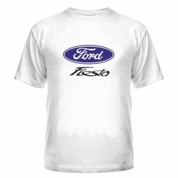 Футболка с логотипом Ford