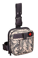 Сумка повседневная тактическая набедренная аптечка Protector Plus EDC А017 ACU   (new_69205)