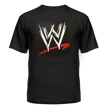 Футболка WWE лого