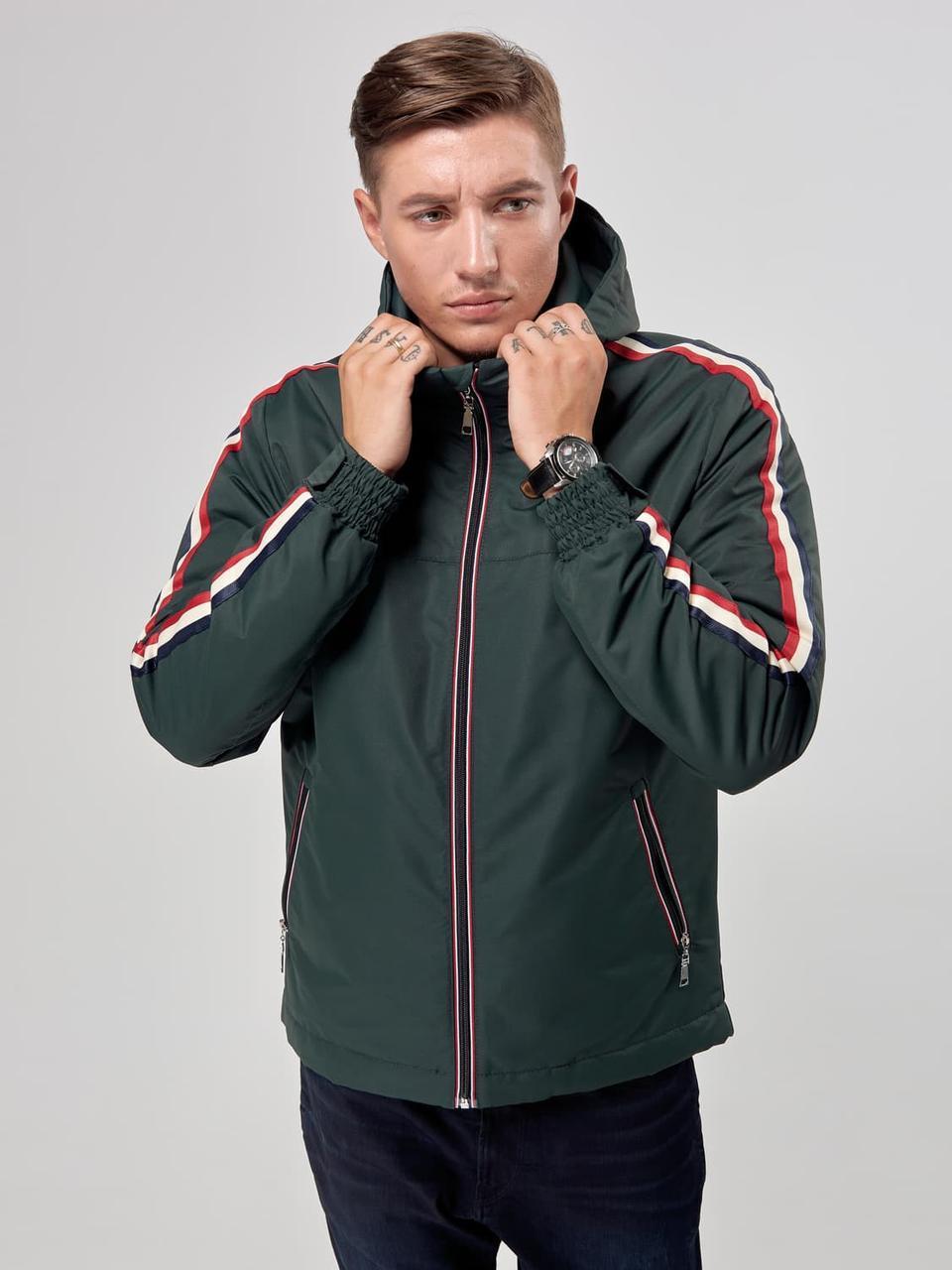 Мужская куртка ветровка Riccardo T1 Хаки