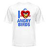 Футболка I love Angry Birds, фото 2