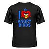 Футболка I love Angry Birds, фото 3