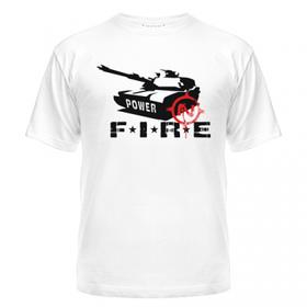 Футболка Танки онлайн (Fire)